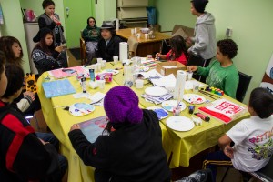 Art to the Streets - great turnout at our first Open Studio.